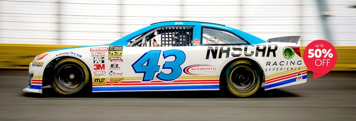 NASCAR Racing Experience and Richard Petty Driving Experience